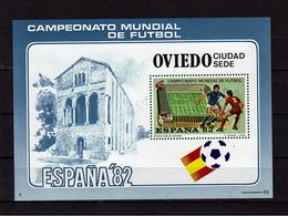 ESPAGNE   BF ( OVIEDO ) * *  Cup 1982    Football  Soccer  Fussball Stade - Fußball-Weltmeisterschaft