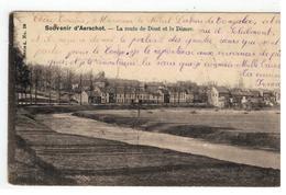 Souvenir D'Aerschot. - La Route De Diest Et Le Démer   1902 - Aarschot