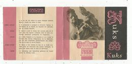 Dépliant Touristique , Tchécoslovaquie , Czechoslovakia , KUKS ,1965  , 2 Scans - Dépliants Touristiques