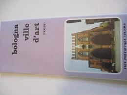 Dépliant Touristique Ancien En Français / Italie / BOLOGNA/ Ville D'Art /Expo 67   DT44 - Tourism Brochures