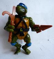 Rare FIGURINE TORTUE NINJA LEONARDO PLAYMATES 1988 - Tortues Ninja