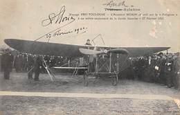 Pau        64      Aviation Voyage Pau Auch Toulouse   Atterrissage De L'aviateur Morin    (voir Scan) - Pau