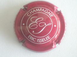 Capsule Champagne Isselée Eric, N° 1e, Marron Et Crème - Ohne Zuordnung