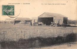 Pau        64       Aviation  Les Hangars. La Cage Des Grands Oiseaux    (voir Scan) - Pau