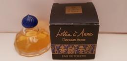 MINIATURE PARFUM   ISABEL DERROISNE  LETTRE A ANNA  EDT 7,5ml NEUF - Miniatures Womens' Fragrances (in Box)