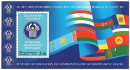 Tajikistan.2011 CIS-20 Years (Flags). S/S: 3.50   Michel # 62 - Tadschikistan