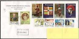 Vaticano/Vatican: Lettera Raccomandata, Lettre Recommandée, Registered Letter - Vatican