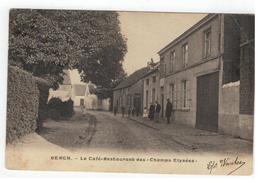 """Berg Bergh. - Le Café-Restaurant Des """"Champs Elysées"""" 1905 - Kampenhout"""