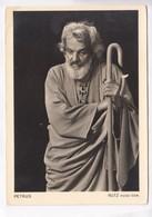 PETRUS, RUTZ Hugo Sen, Offizielle Fotokarte, Passionsspiele 1950 Oberammergau, Postcard [22611] - Christianity