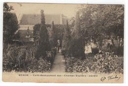 """Berg Bergh. - Le Café-Restaurant Des """"Champs Elysées"""" Jardin 1905 - Kampenhout"""