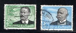 Deutsches Reich 1943  Mi # 538-539  O  Flugpost - O.Lilienthal (Höchstwerte Aus Satz) - Deutschland