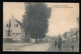 SINT GILLIS WAAS - DE VRIJBOOM EN HET GEMEENTEHUIS - Sint-Gillis-Waas