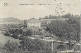 87- EYMOUTIERS - VILLA DE TOULONDI  (famille De La Chaise) - 1909 - Eymoutiers