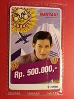 INDONESIA Boy Mentari Indosat Prepaid Card Rp 500000 MINT Blister NSB 31.12.2007 (SACROC) - Indonesia