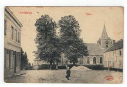 LINKEBEEK  L'Eglise  Marcovici 1919 - Linkebeek