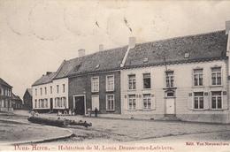 Deux - Acren. - Habitation De M. Louis Deanscutter - Lefebvre Très Belle Carte Animée - Carte Rare -  état Voi Scan. - Lessines
