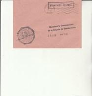 L 3 -  Enveloppe  Gendarmerie De L'Air MERIGNAC (date Inversée) - Cachets Militaires A Partir De 1900 (hors Guerres)