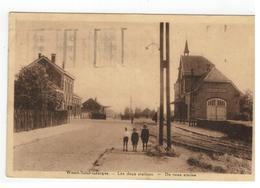 Sint-Joris-Weert  Weert-Saint-Georges - Les Deux Stations De Twee Staties  1936 - Oud-Heverlee