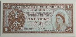 Billete Hong Kong. 1 Céntimo. 1971-1981. Original. Sin Circular - Hong Kong