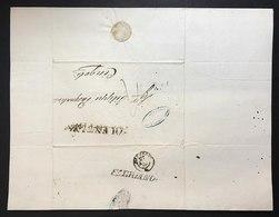 Fabriano 1859 X Cingoli Timbro Tolentino Cod.bu.259 - Stato Pontificio