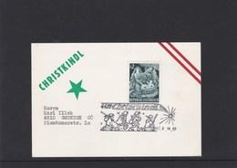 Österreich Karte Weihnachten Christkindl Sonderstempel 1965 - Österreich