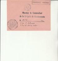 L 3 -  Enveloppe  Gendarmerie De L'Air AMBERIEU  EN BUGEY - Cachets Militaires A Partir De 1900 (hors Guerres)