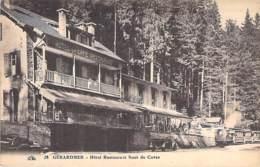 "88 - GERARDMER : Hotel Restaurant "" SAUT De CUVES "" - CPA - Vosges - Gerardmer"