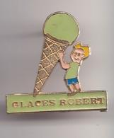 Pin's Glaces Robert  Réf 7231 - Merken