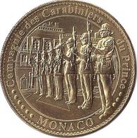 98 MONACO CARABINIERS DU PRINCE MÉDAILLE TOURISTIQUE ARTHUS BERTRAND 2012 JETON MEDALS TOKENS COINS - 2012