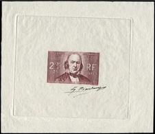 France 439 Claude Bernard Epreuve D'artiste En Lie De Vin Signé. Artist Signed Die Proof. Medicine Physiologist Medecine - Artist Proofs