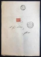 Municipio Di Pausula 17 07 1889 Cover Con 2 Cent  Cod.bu.260 - Stato Pontificio