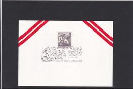 Österreich Karte Weihnachten Hl. Drei Könige Sonderstempel 1967 - Österreich
