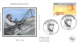 FRANCE Poste Aérienne 67 FDC Avion Marie MARVINGT (CV 18 €) - FDC