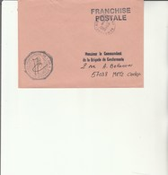 L 3 -  Enveloppe  Gendarmerie De L'Air D' ORANGE - Cachets Militaires A Partir De 1900 (hors Guerres)