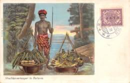 Indonésie - Other / 55 - Vruchtenverkooper Te Batavia - Belle Oblitération - Indonésie