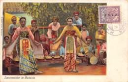Indonésie - Other / 56 - Dansmeiden Te Batavia - Belle Oblitération - Indonésie