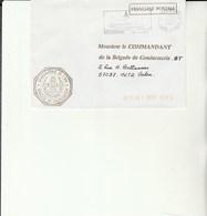 L 3 -  Enveloppe  Gendarmerie De L'Air CHATEAUDUN - Cachets Militaires A Partir De 1900 (hors Guerres)