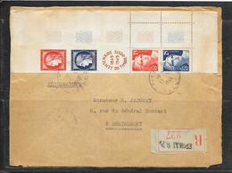 LOT 1812214 - N° 833A SUR DEVANT DE LETTRE RECOMMANDEE DE EPINAL DU 17/06/49 POUR REMIREMONT - Postmark Collection (Covers)