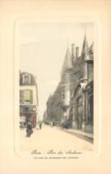 75004 - PARIS - Rue Des Archives - Belle Carte En Couleur - Arrondissement: 04