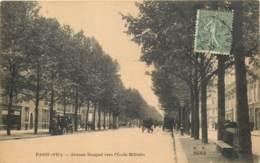75007 - PARIS - Avenue Bosquet Vers L'Ecole Militaire - Arrondissement: 07