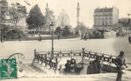 75012 - PARIS - La Sortie Du Metro Et Place De La Nation - LL - Arrondissement: 12