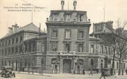 75014 - PARIS - Caserne Des Pompiers Chaligny - Bd Diderot 1936 - Arrondissement: 14