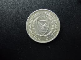 CHYPRE : 50 MILS   1981   KM 41     SUP+ - Cyprus