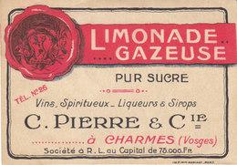 étiquette De La Limonade C.Pierre à Charmes , Vosges - Labels