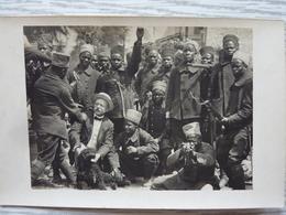 CP-photo Des Zouaves Coloniaux Guerre 1914-1918 - Characters
