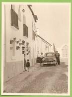 Vila Viçosa - REAL PHOTO - Rua De Acesso à Igreja - Old Cars - Vintage Car - Voitures Opel - Deutschland. Évora. - Turismo