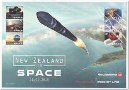 Nieuw Zeeland 2018, Postfris MNH, New Zealand In Space - Nouvelle-Zélande