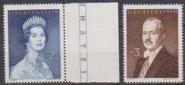 Lichtenstein 1960 MiNr.402 -403 ** Postfr. Fürstenpaar ( 8161 ) Günstige Versandkosten - Liechtenstein