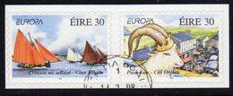 Ireland 1998 Europa Festivals Self-adhesive Pair, Used, SG 1171/2 - Usados