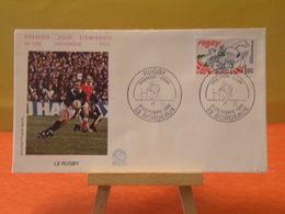 Le Rugby (33) Bordeaux - 9.10.1982 FDC 1er Jour N°1292 - Coté 3,20€ - FDC